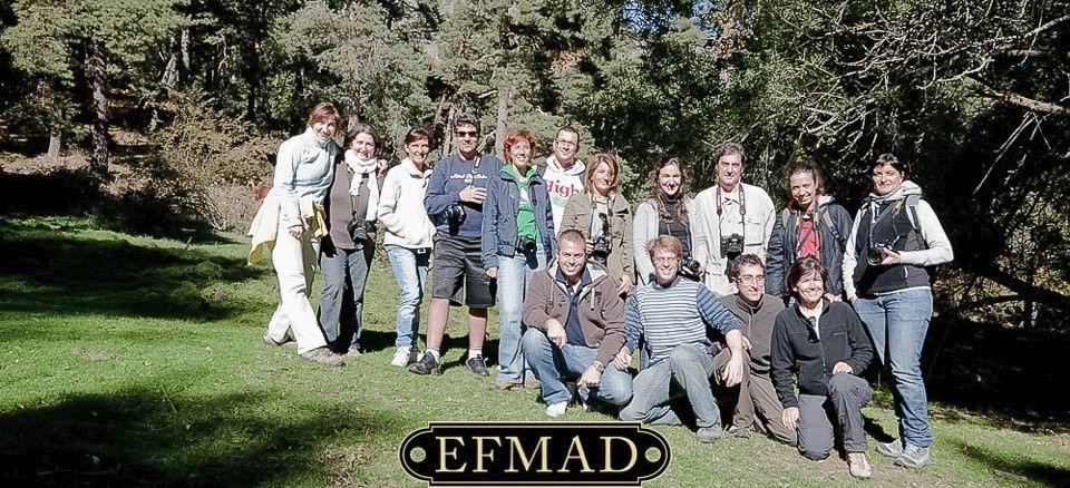 En el curso de fotografía de Madrid nos fuimos al Escorial