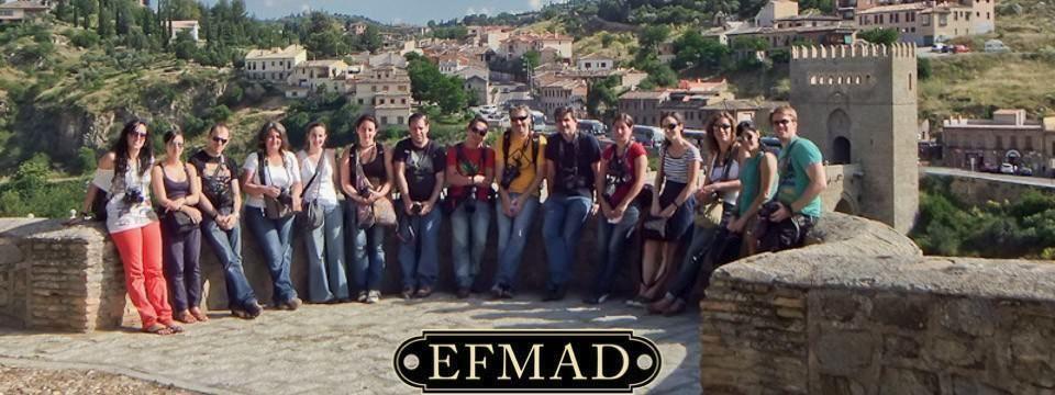 Los alumnos de la escuela de fotografía madrid pasaron un día por toledo