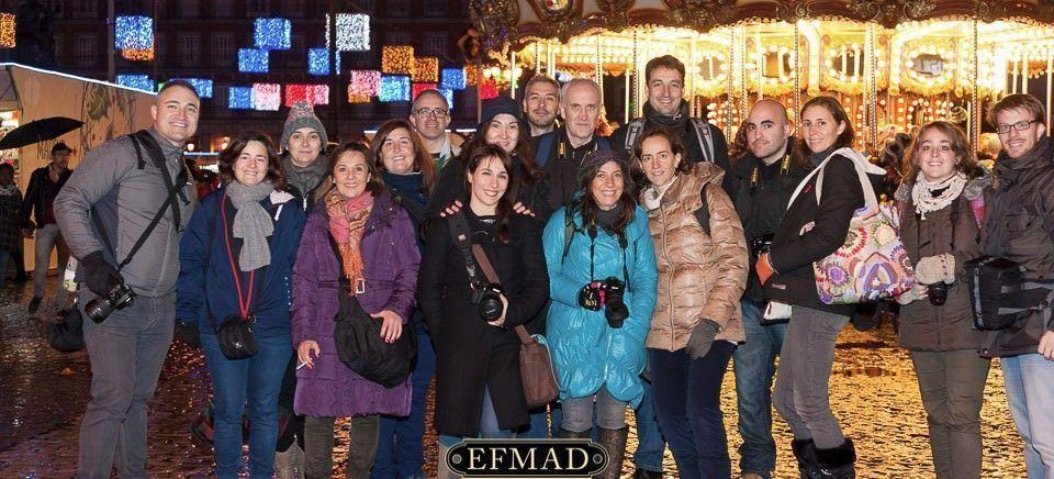 fotografía de la quedada de la escuela de fotografia madrid por navidad